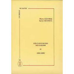 Les catalogues des salons tome IV  (1841-1845)