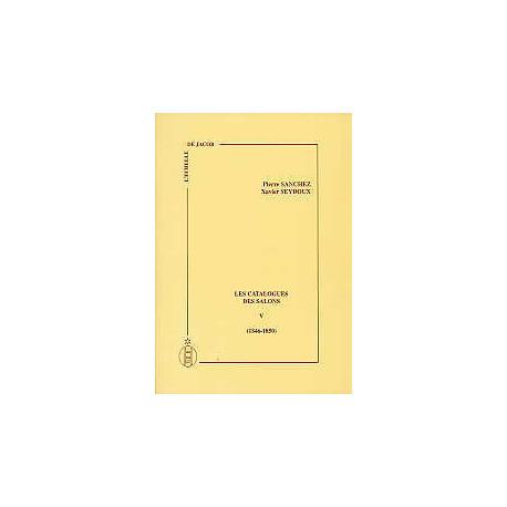 Les catalogues des salons tome V (1846-1850)