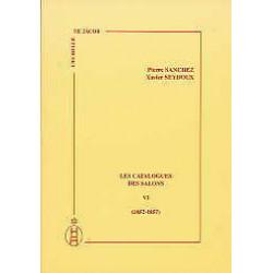 Les catalogues des salons tome VI  (1852-1857)