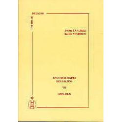 Les catalogues des salons tome VII  (1859-1864)
