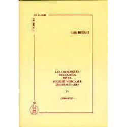 Les catalogues des salons de la sociéte nationale des Beaux-Arts vol IV