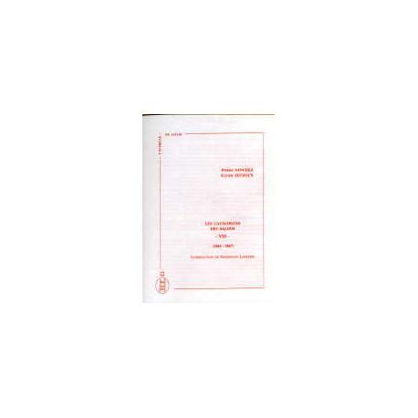 Les catalogues des salons tome VIII  (1864-1867)
