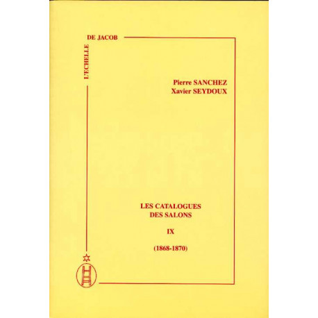 Les catalogues des salons tome IX  (1868-1870)