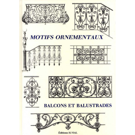 Motifs ornementaux balcons et balustrades