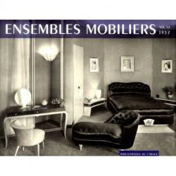 Ensembles mobiliers 1937 à 1960 les 17 volumes