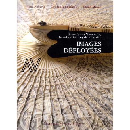 Images déployées la collection royale anglaise d'éventails