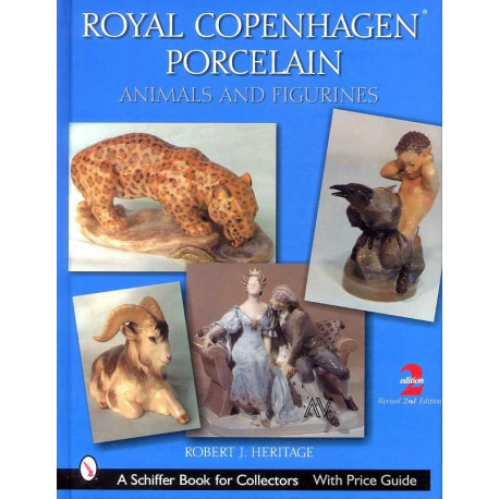 Royal Copenhagen porcelain 2°édition  ( porcelaine de Copenhague )
