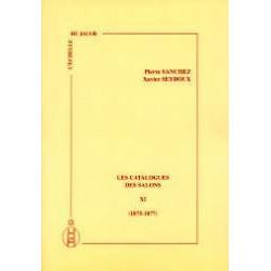 Les catalogues des salons tome XI  (1875-1877)