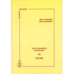 Les catalogues des salons tome XII  (1878-1880)