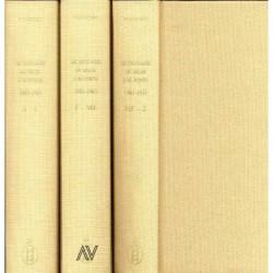 Dictionnaire du salon d'automne en 3 volumes 1903-1945