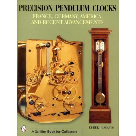 Précision pendulum clocks France, Germany, América, And recent ad