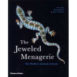 The Jeweled Menagerie (paperback) /anglais