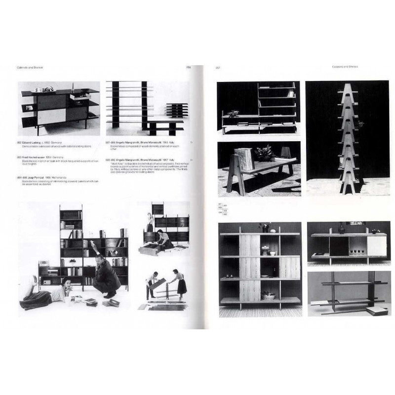 Modern furniture designs 1950 1980 design du mobilier for Mobilier moderne design